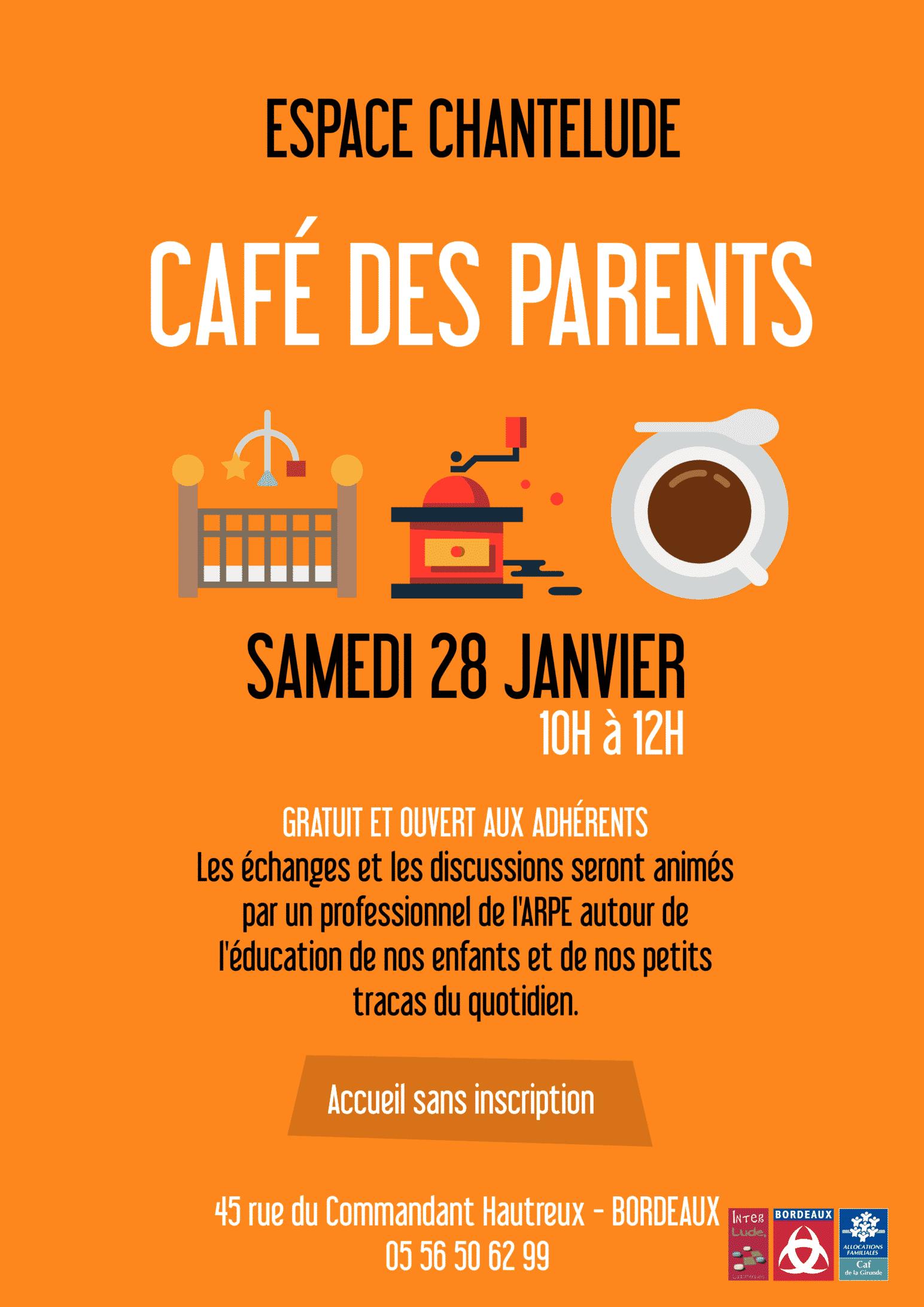 Caf des parents enfant - Restaurant enfant bordeaux ...